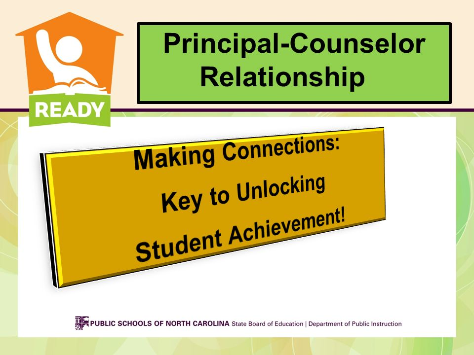 Principal-Counselor Relationship