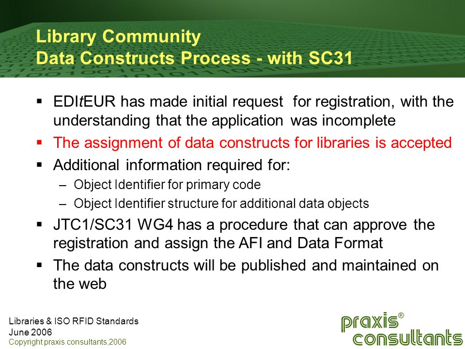 Library Community Data Constructs Process - with SC31