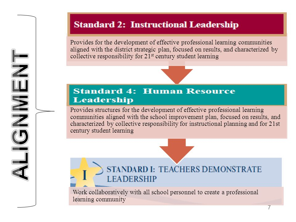 Work collaboratively with all school personnel to create a professional learning community