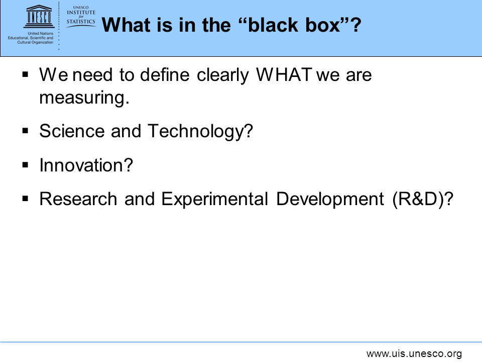 What is in the black box