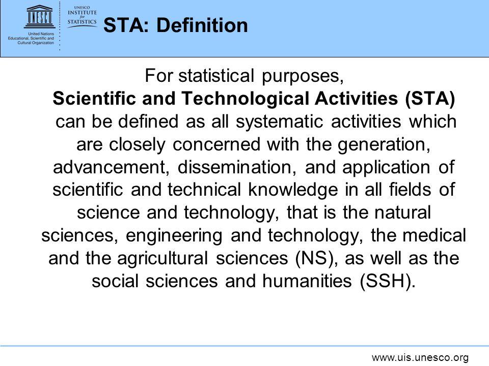 STA: Definition
