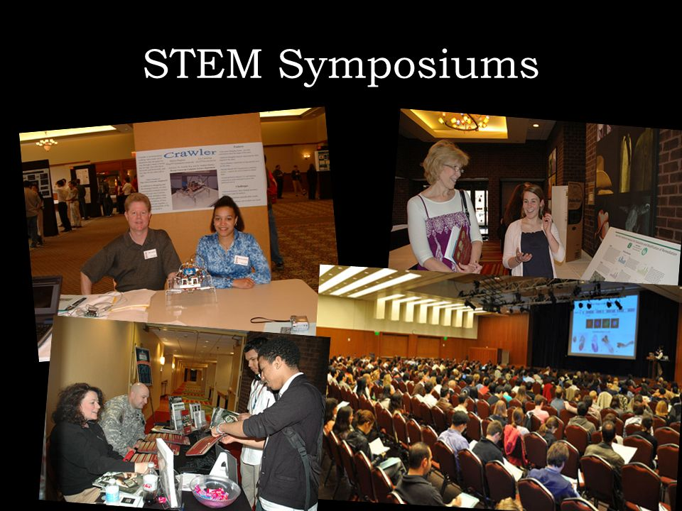 STEM SymposiumsStatewide Symposium for Nontraditional and Underrepresented STEM Initiatives.