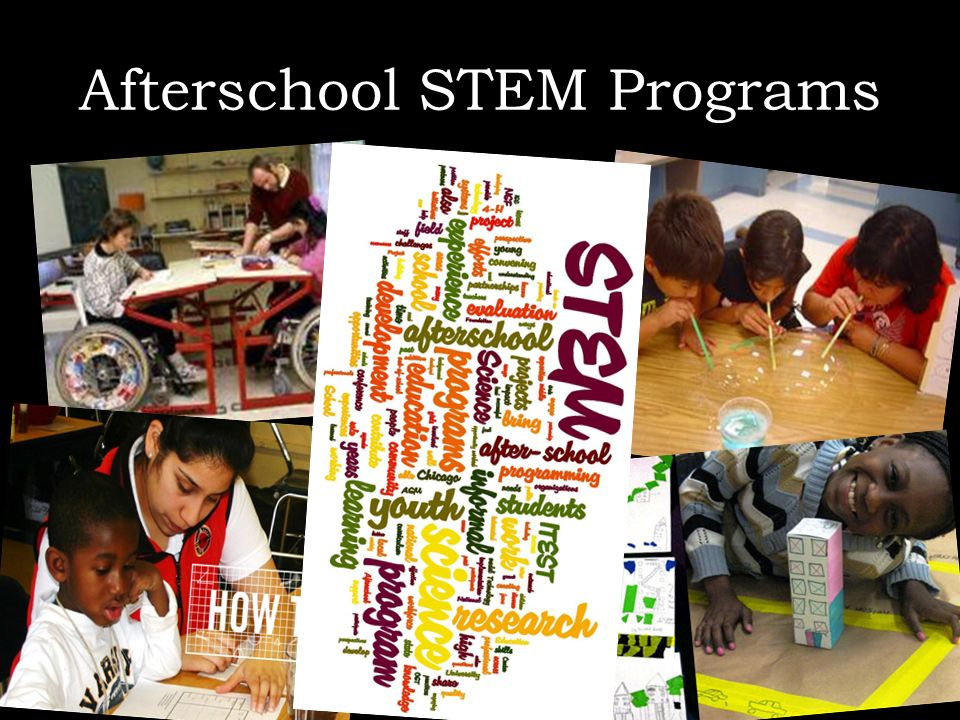 Afterschool STEM Programs