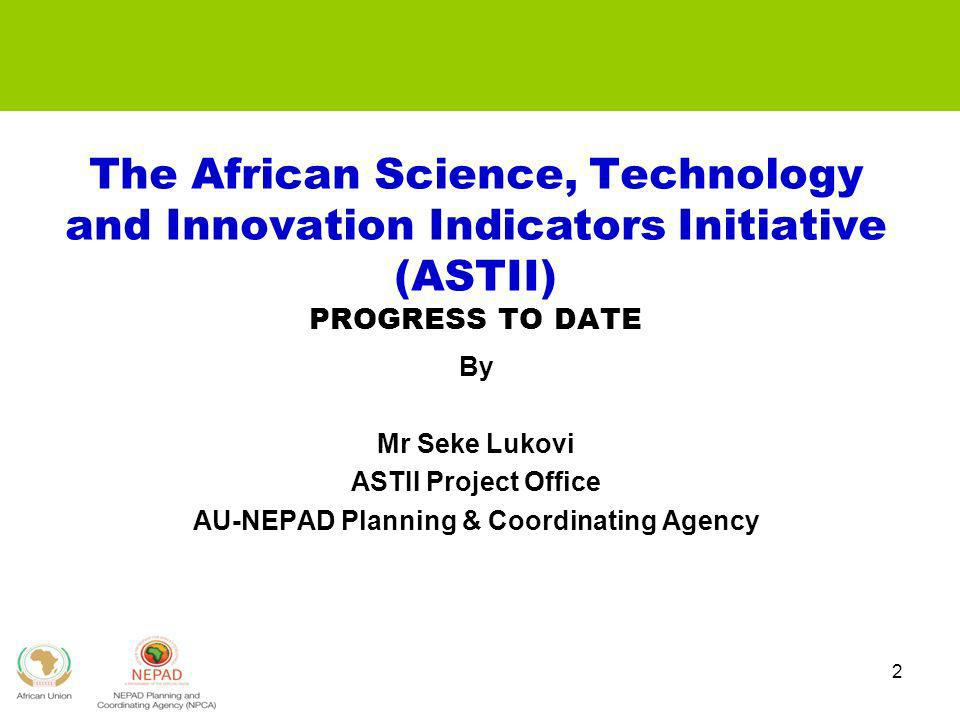 AU-NEPAD Planning & Coordinating Agency