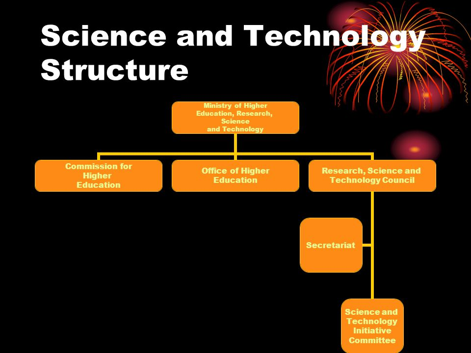 Science and Technology Structure