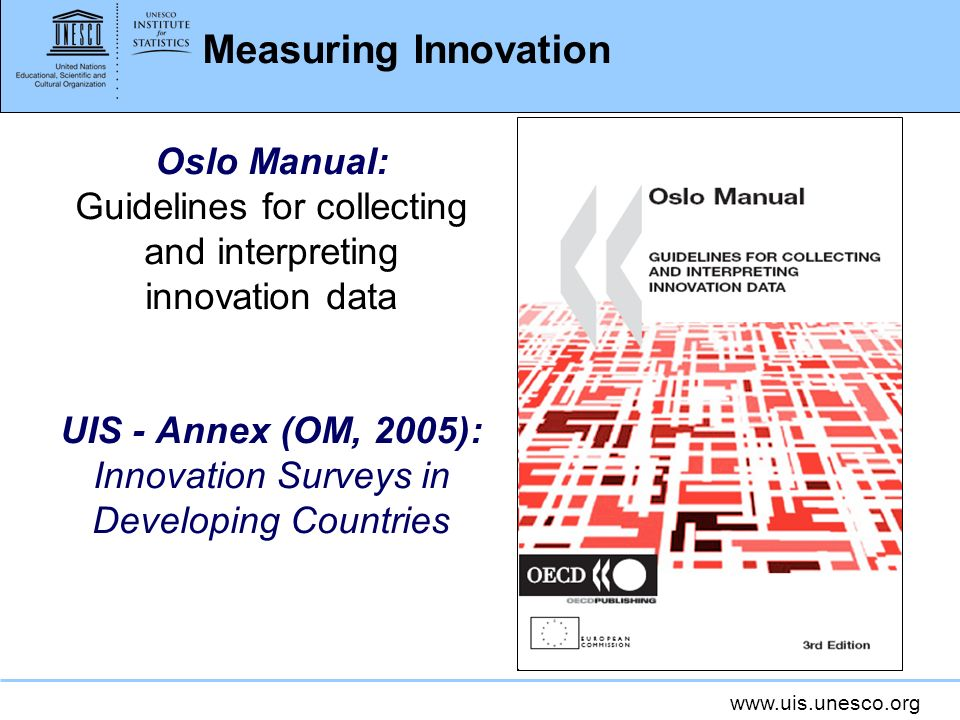 UIS - Annex (OM, 2005): Innovation Surveys in Developing Countries
