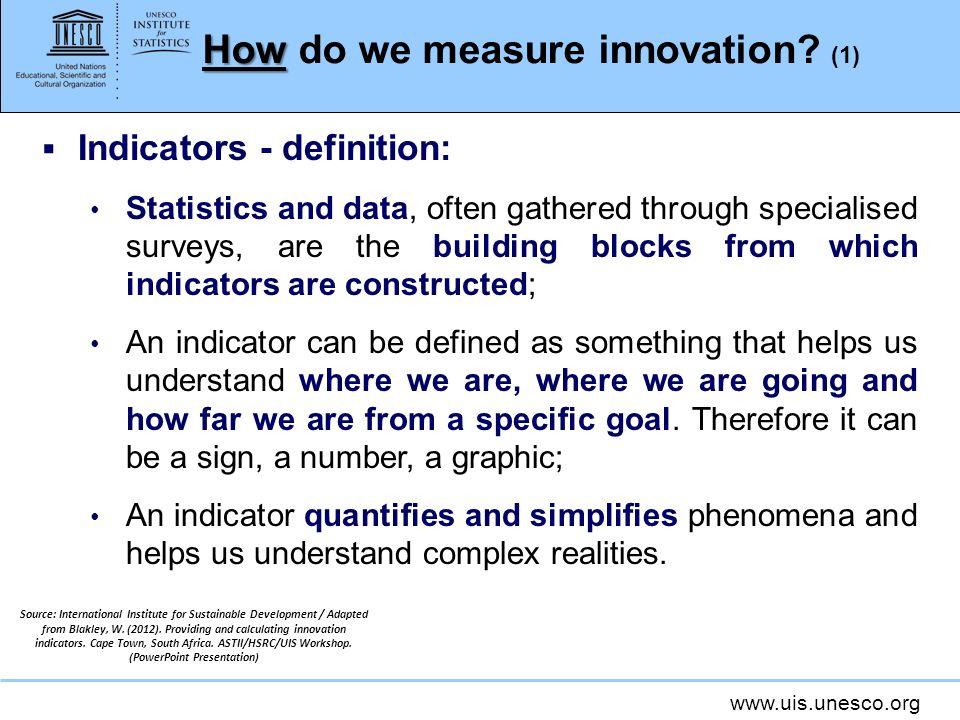 How do we measure innovation (1)