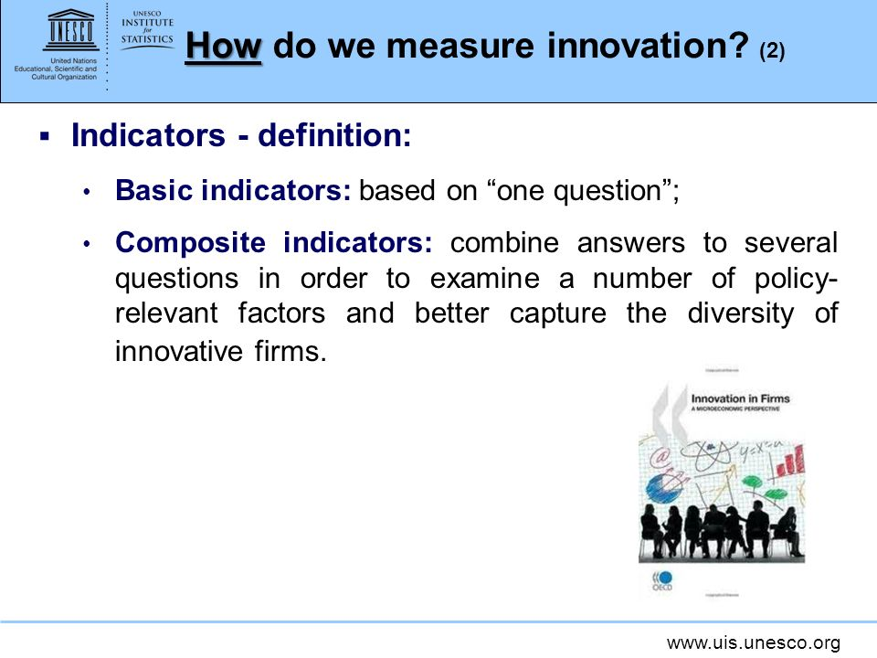 How do we measure innovation (2)