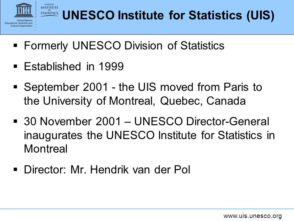 UNESCO Institute for Statistics (UIS)