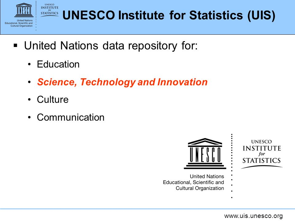 UNESCO Institute for Statistics (UIS)