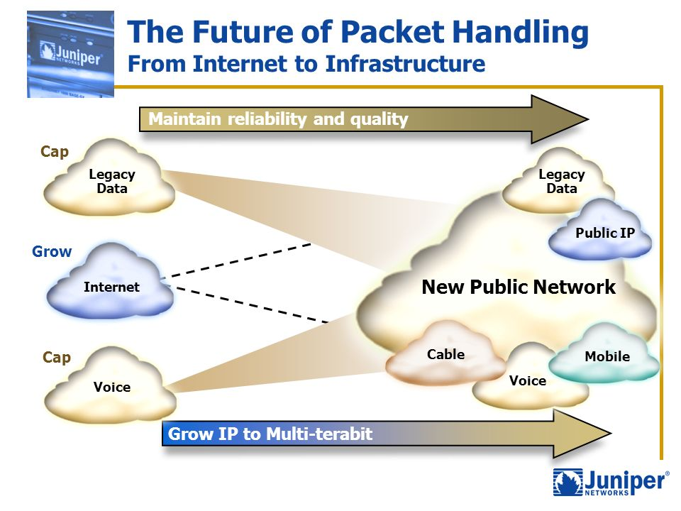 The Future of Packet Handling From Internet to Infrastructure