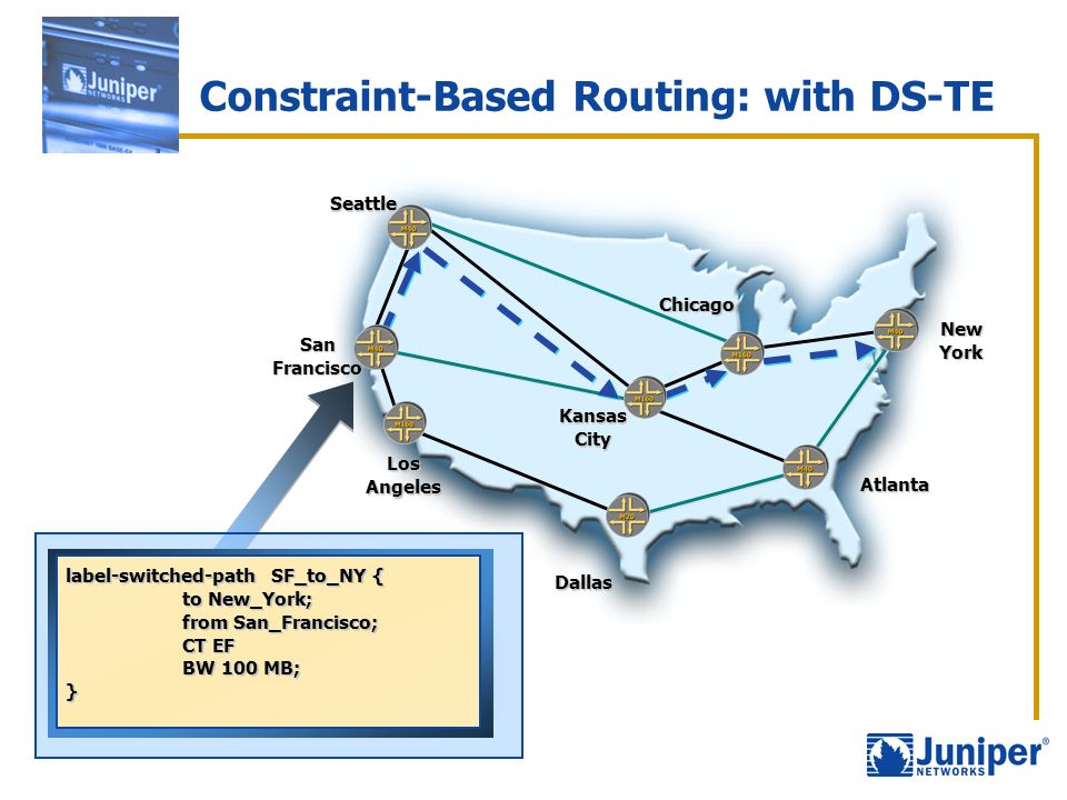 Constraint-Based Routing: with DS-TE