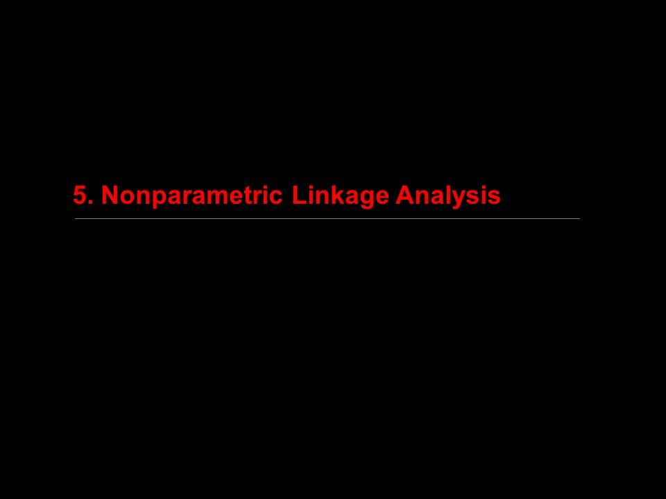 5. Nonparametric Linkage Analysis