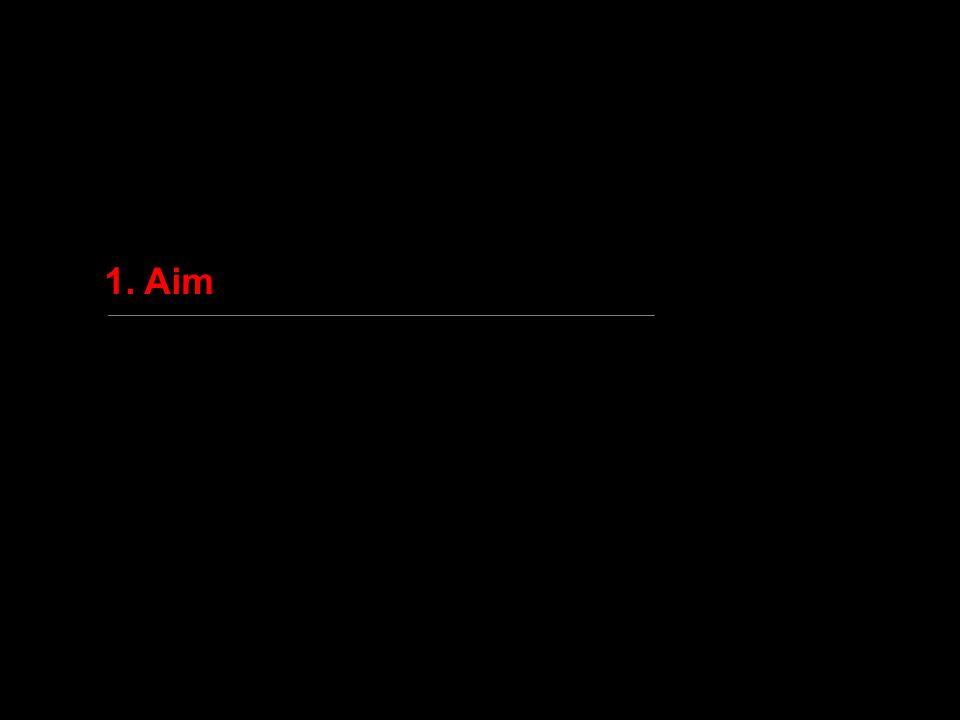 1. Aim