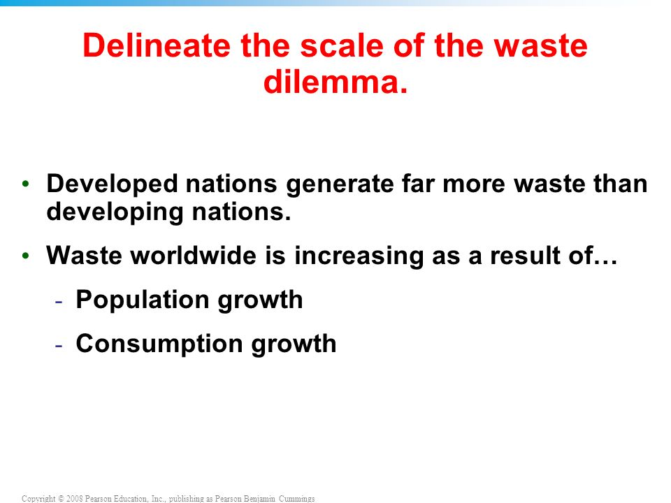 the municipal solid waste dilemma essay The impact of municipal solid waste on the environment essays: over 180,000 the impact of municipal solid waste on the environment essays, the impact of municipal solid waste on the environment term papers, the impact of municipal solid waste on the environment research paper, book reports 184 990 essays, term and research papers available for unlimited access.