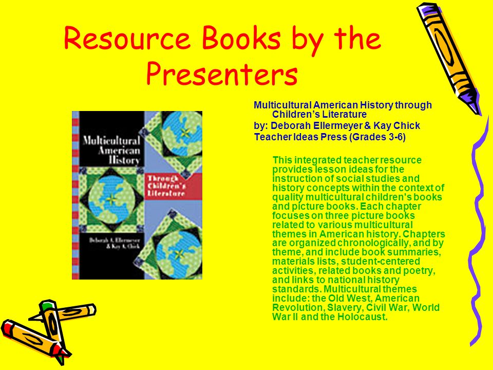 Resource Books by the Presenters