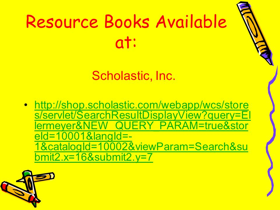 Resource Books Available at: