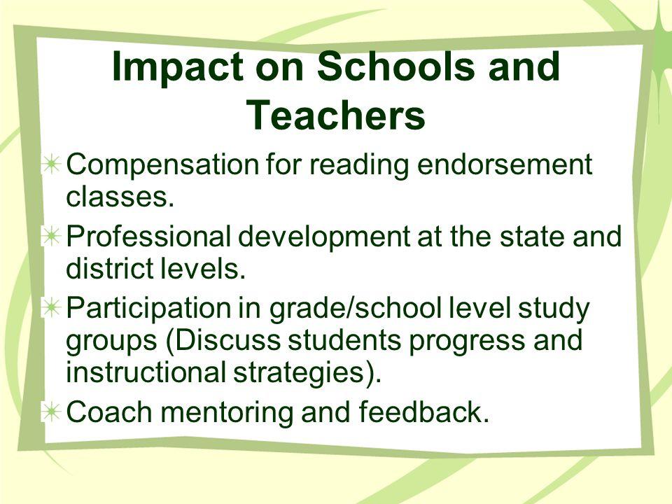 Impact on Schools and Teachers
