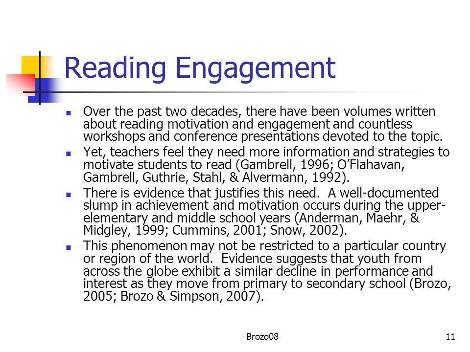Reading Engagement