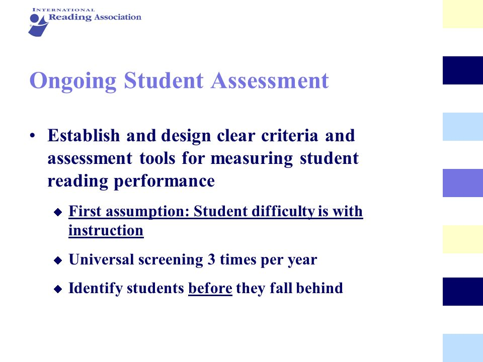Ongoing Student Assessment