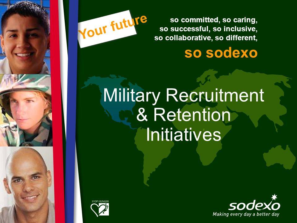 Military Recruitment & Retention Initiatives