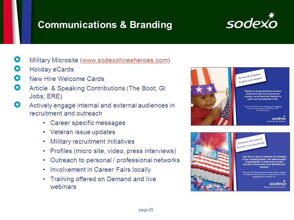 Communications & Branding