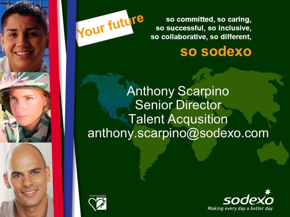 Anthony Scarpino Senior Director Talent Acqusition anthony