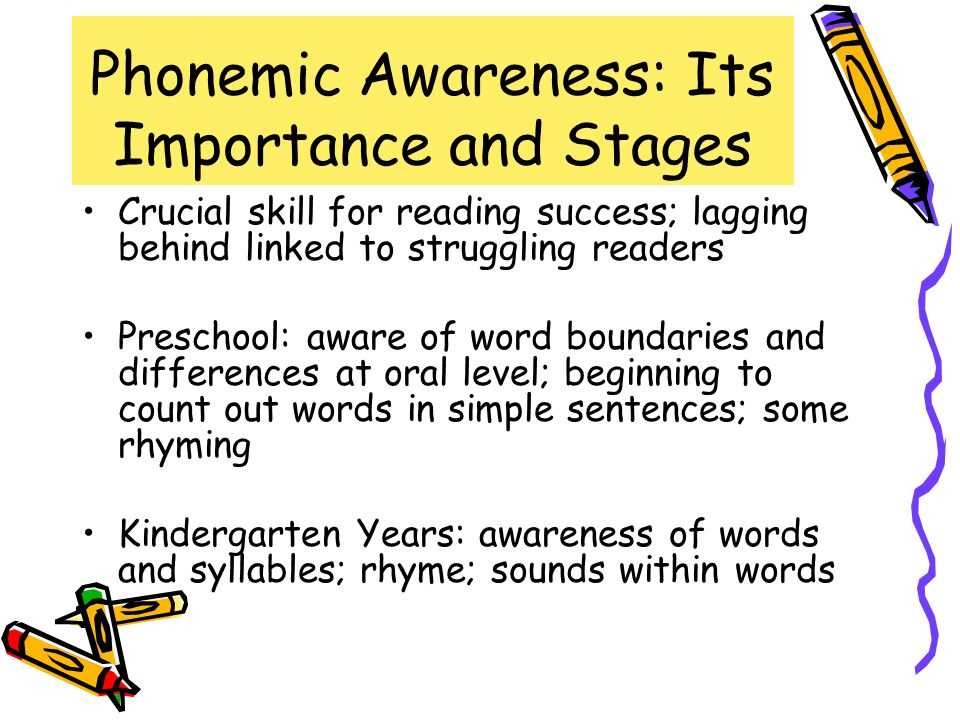 Phonemic Awareness: Its Importance and Stages