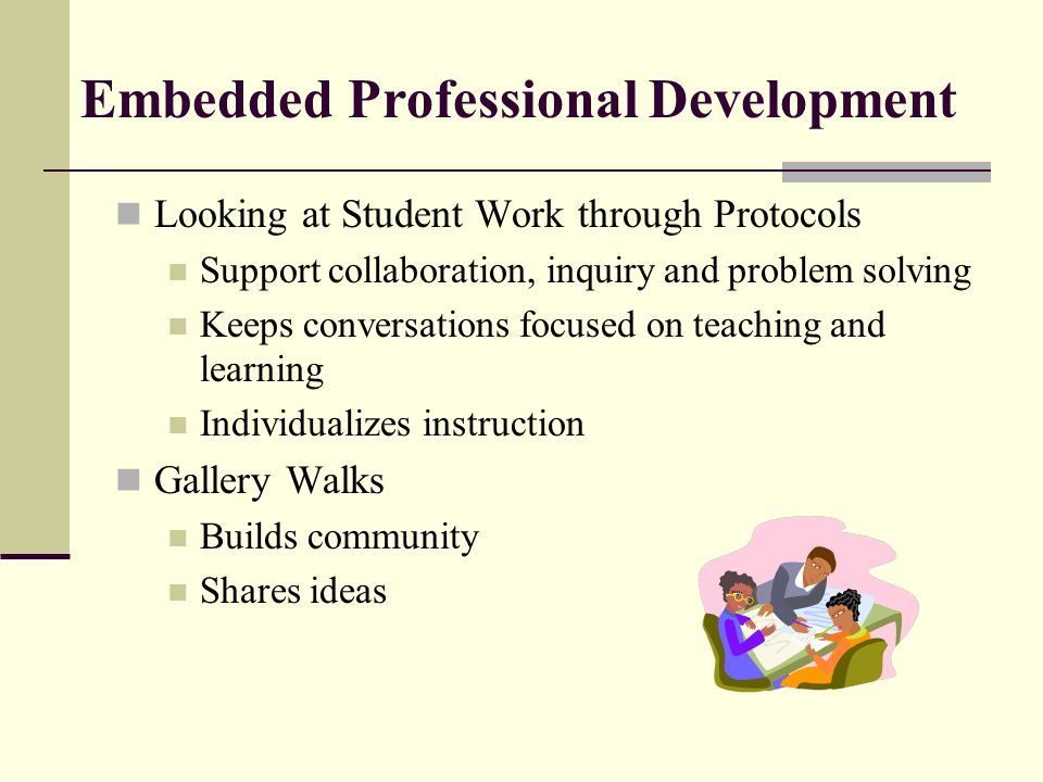 Embedded Professional Development