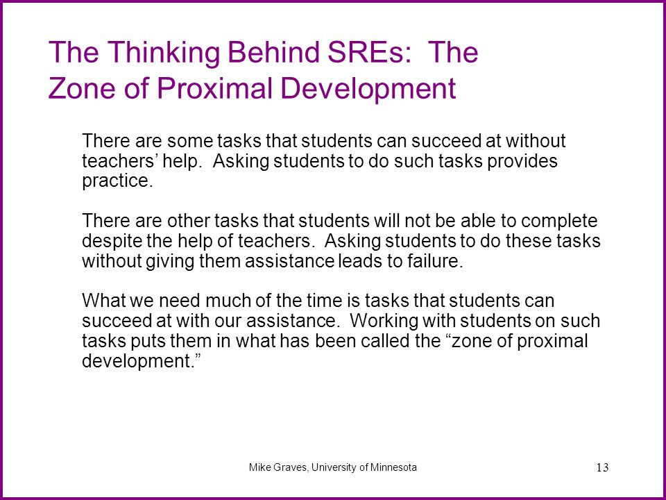 The Thinking Behind SREs: The Zone of Proximal Development