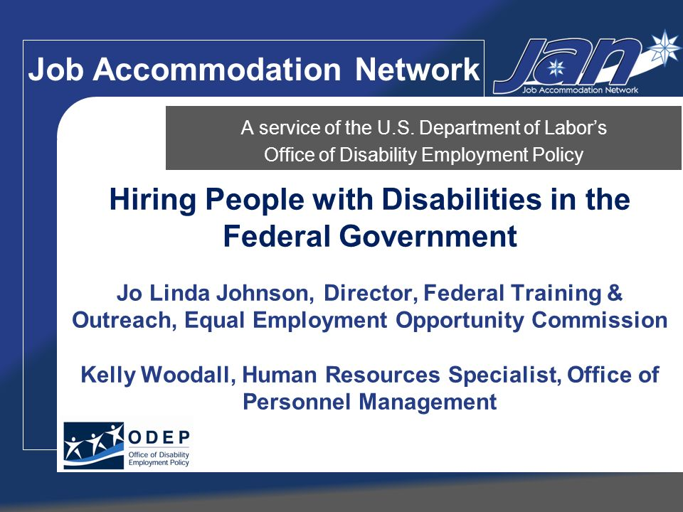 Job Accommodation Network