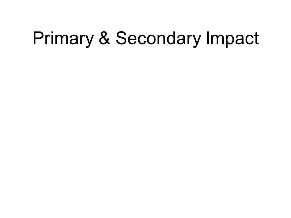 Primary & Secondary Impact