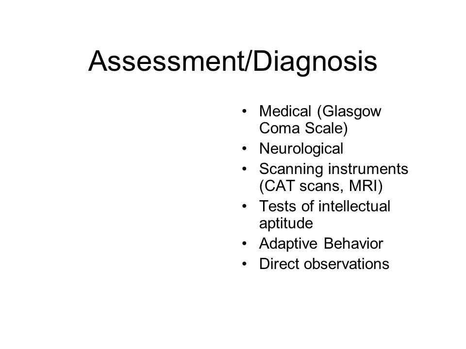 Assessment/Diagnosis