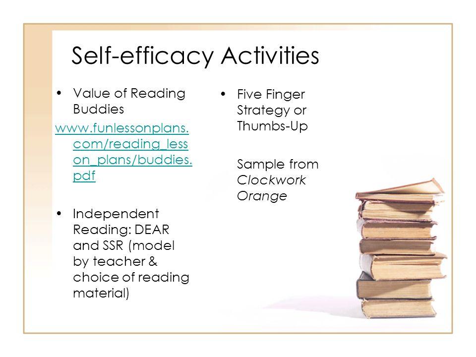 Self-efficacy Activities