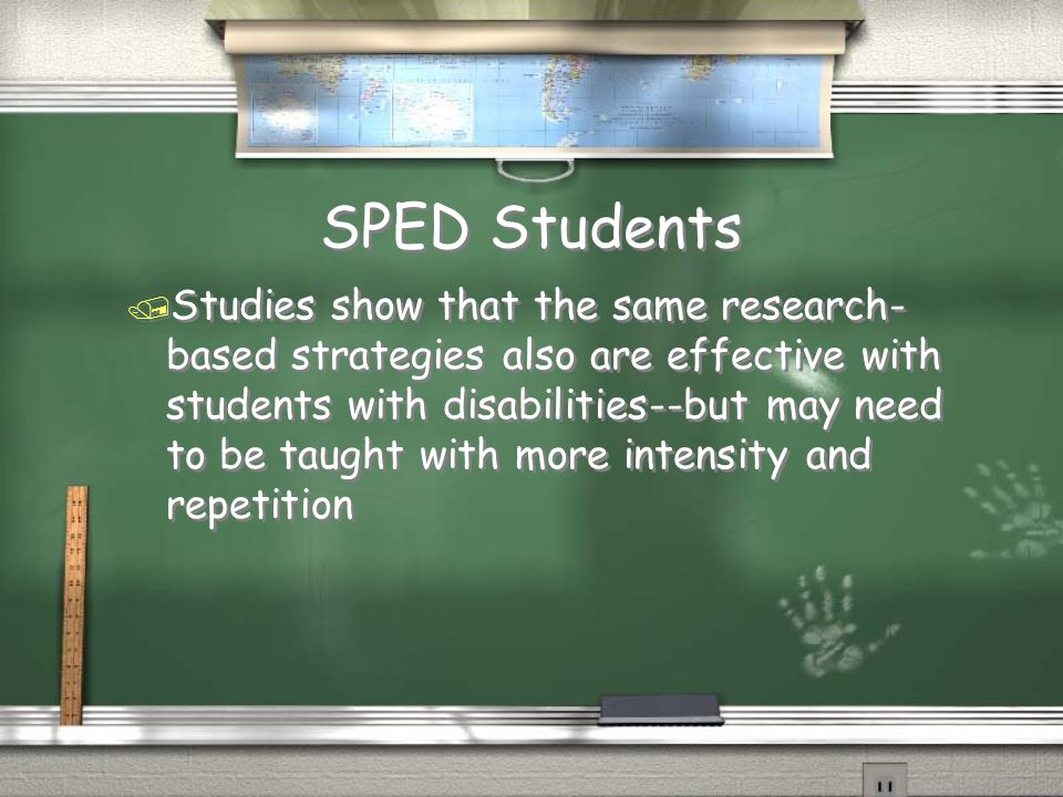 SPED Students