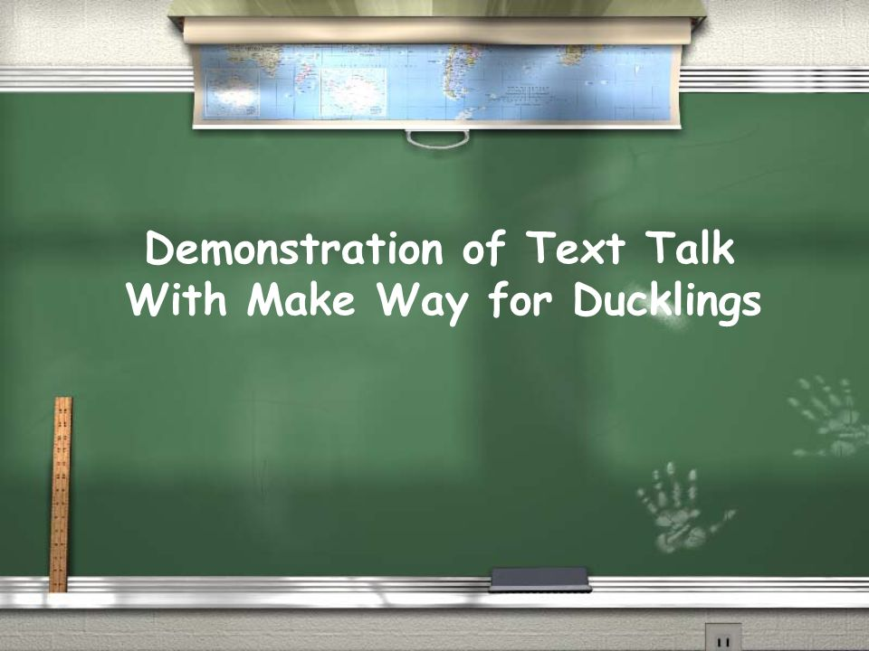 Demonstration of Text Talk