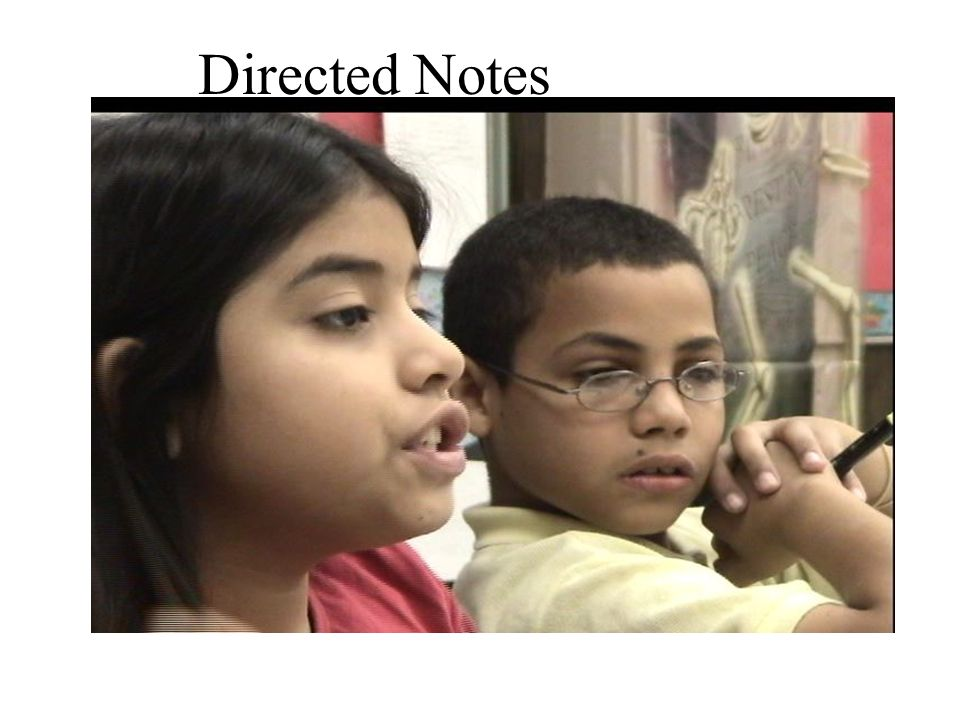 Directed Notes