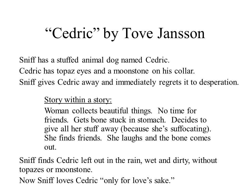 Cedric by Tove Jansson