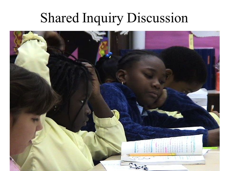 Shared Inquiry Discussion