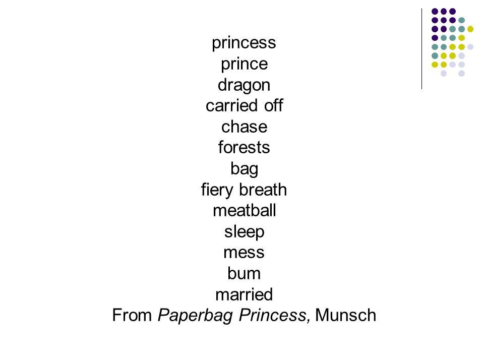 From Paperbag Princess, Munsch