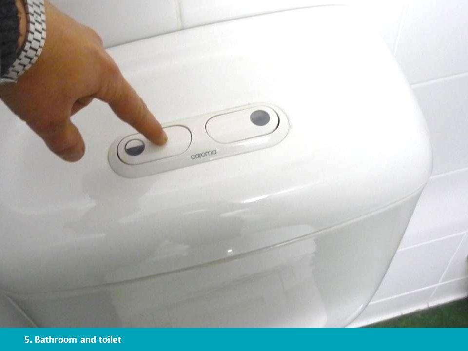 Install a dual flush toilet
