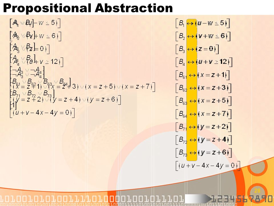 Propositional Abstraction