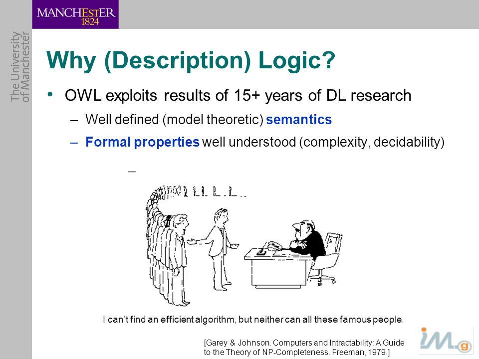 Why (Description) Logic