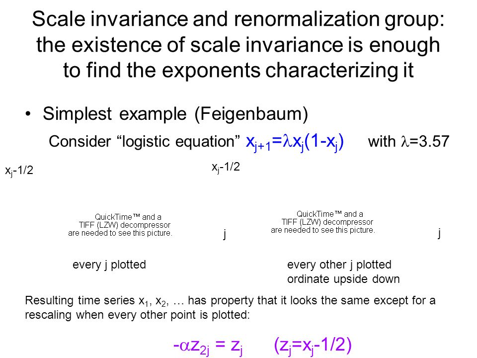 Scale invariance and renormalization group: the existence of scale invariance is enough to find the exponents characterizing it