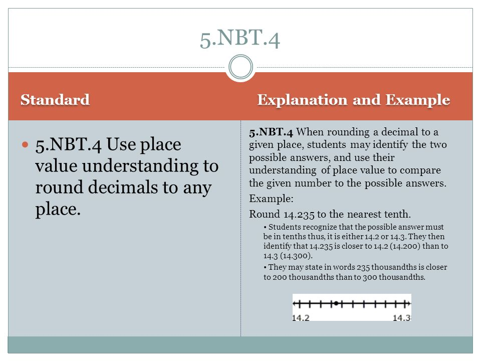 5.NBT.4 Standard. Explanation and Example.