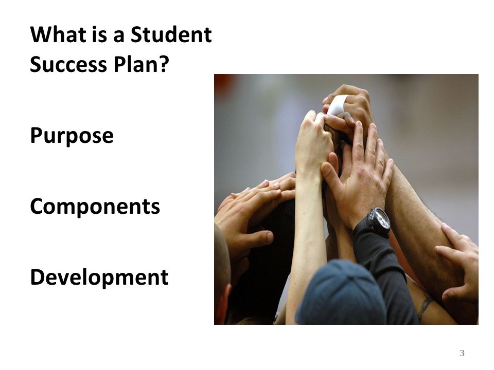 What is a Student Success Plan