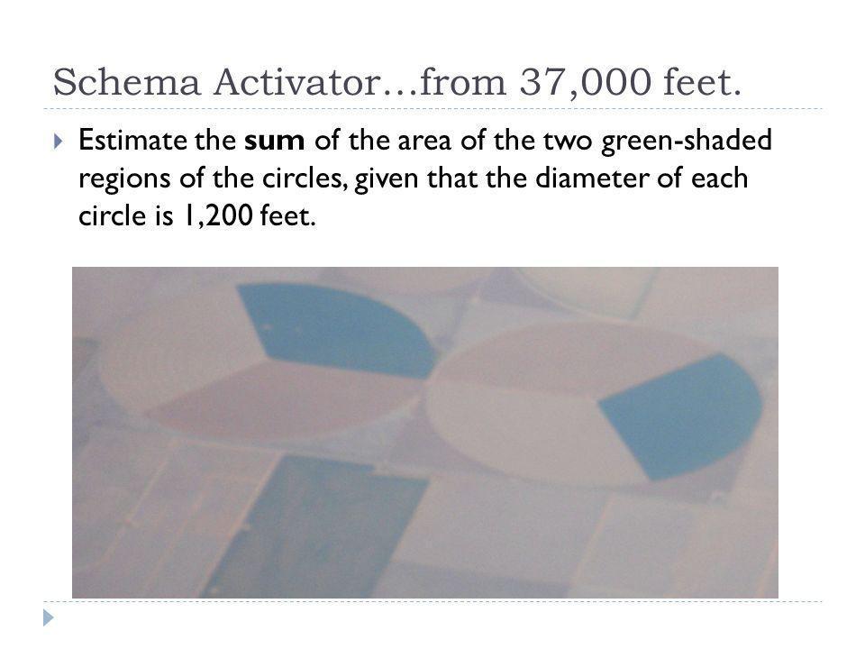 Schema Activator…from 37,000 feet.