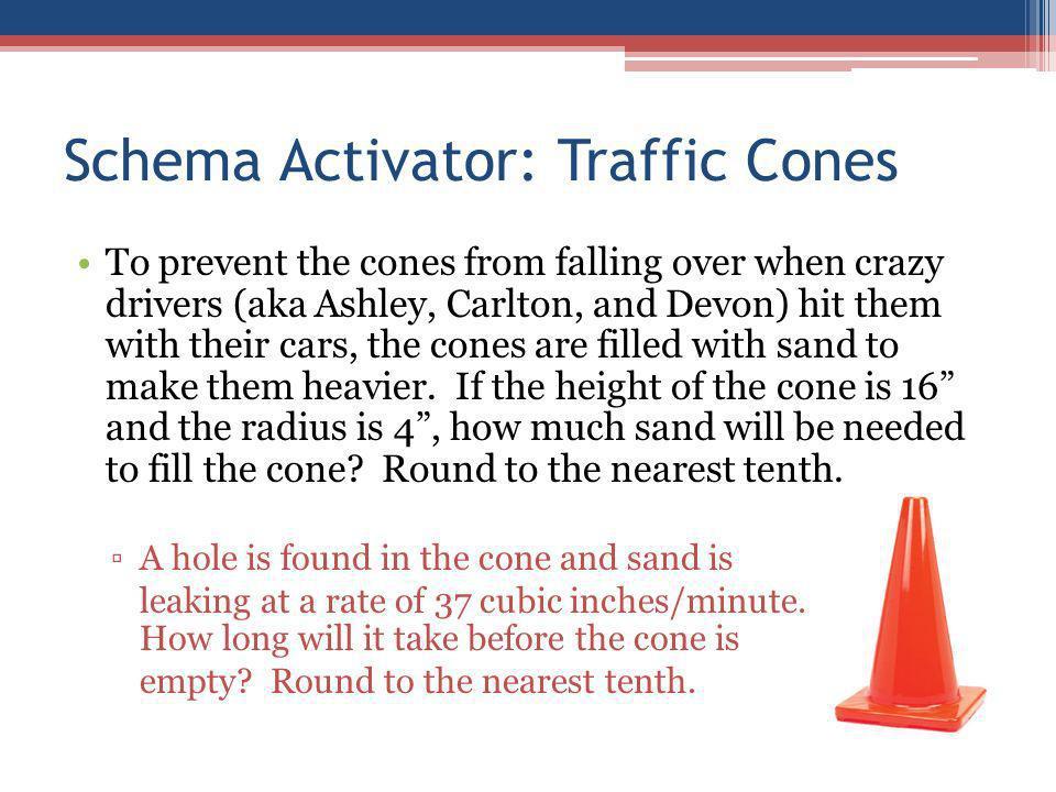 Schema Activator: Traffic Cones