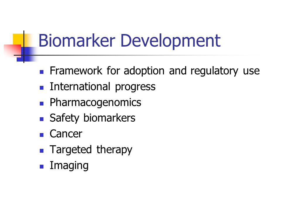 Biomarker Development