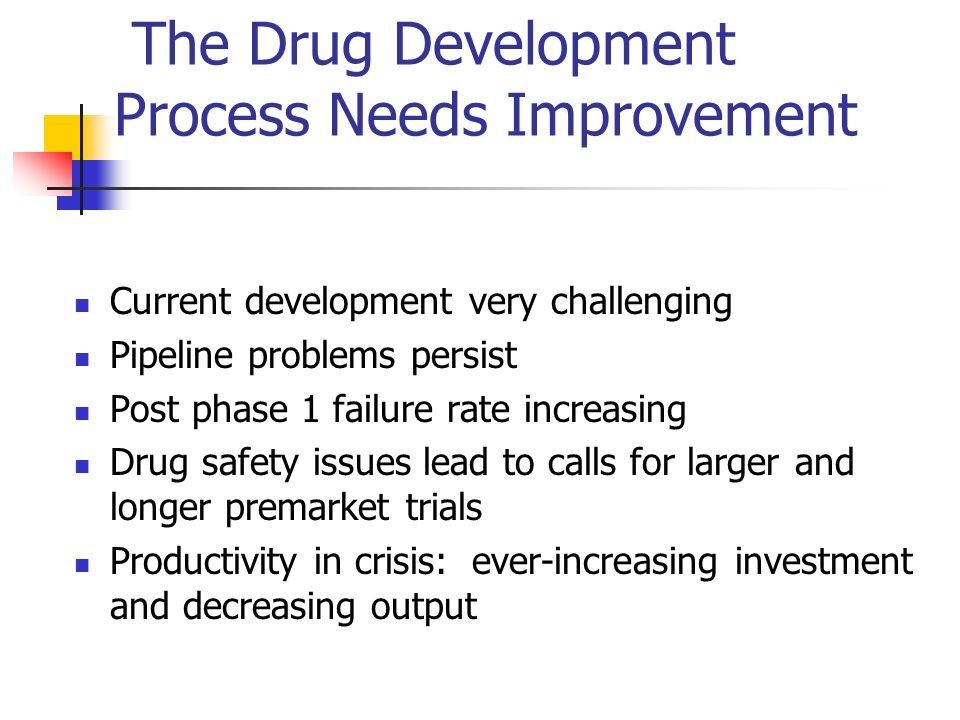 The Drug Development Process Needs Improvement